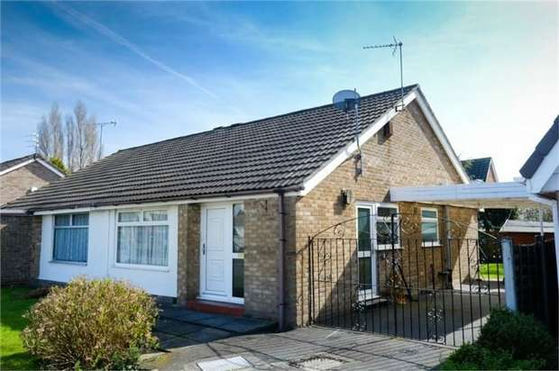 2 Bedrooms Semi Detached Bungalow for sale in Windle Ash, Liverpool, Merseyside