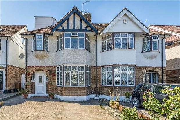 5 Bedrooms Semi Detached House for sale in Woodstock Avenue, SUTTON, Surrey, SM3 9EF