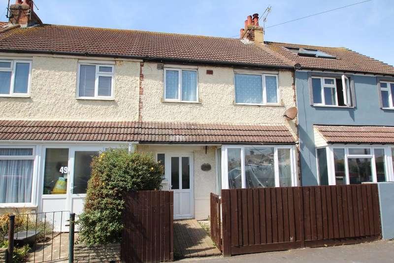 3 Bedrooms Terraced House for sale in Brambledean Road, Portslade, East Sussex, BN41 1LP
