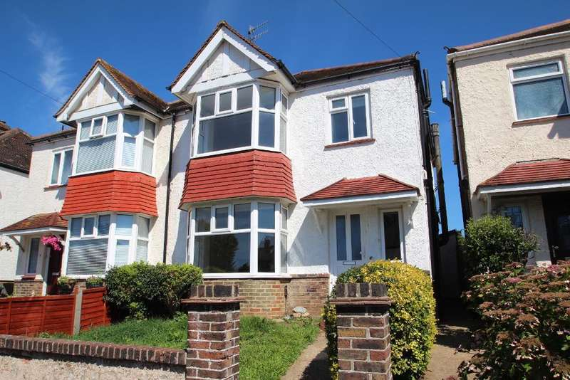 3 Bedrooms Semi Detached House for sale in Amherst Crescent, Hove, East Sussex, BN3 7EP