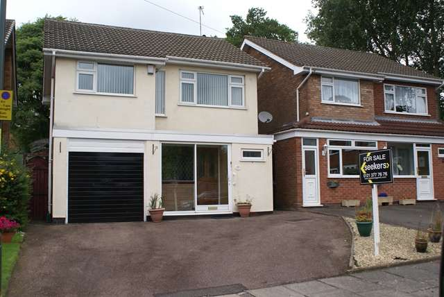 3 Bedrooms Detached House for sale in Woodway, Erdington, Three Bedroom Detached House, B24 0HA