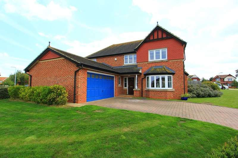 4 Bedrooms Detached House for sale in Hunsdon Close, Eastchurch, Sheerness, Kent, ME12