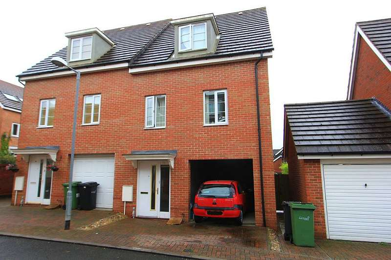 3 Bedrooms Semi Detached House for sale in Magnolia Way, Queens Hills, Costessey, Norwich, Norfolk, NR8 5EH