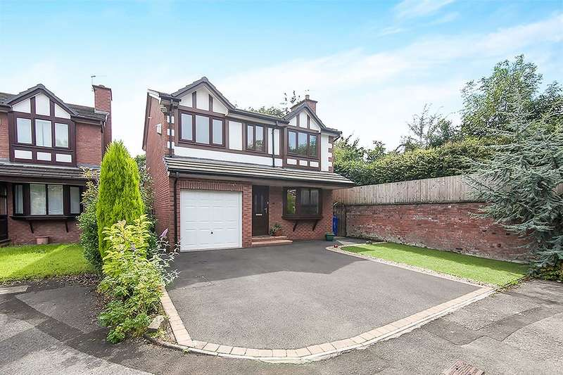 4 Bedrooms Detached House for sale in Fettler Close, Swinton, Manchester, M27