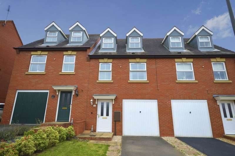 3 Bedrooms Property for sale in Woodyard Close, Castle Gresley, Swadlincote, DE11