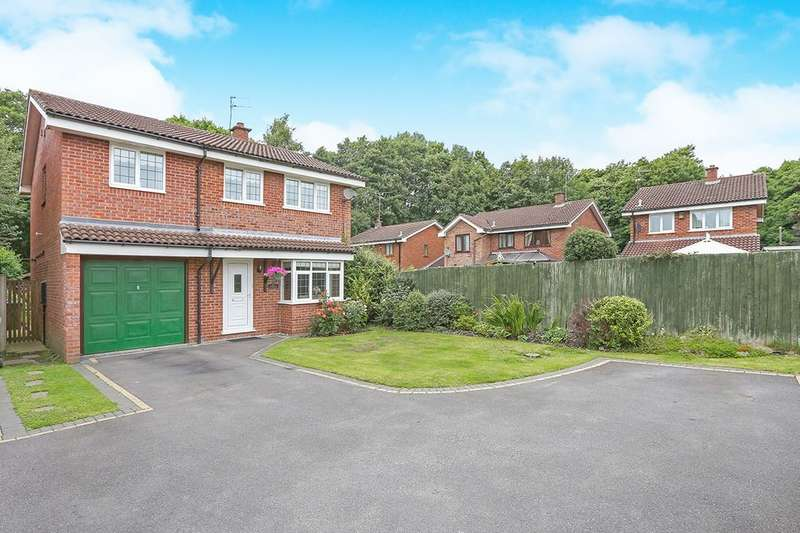 4 Bedrooms Detached House for sale in Brunel Grove, Perton, Wolverhampton, WV6