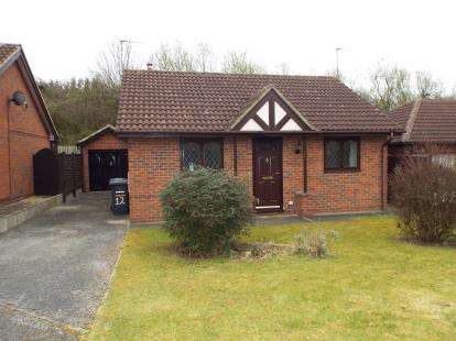 2 Bedrooms Bungalow for sale in Marchington Close, Allestree, Derby, Derbyshire