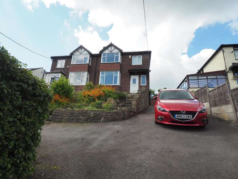 3 Bedrooms Semi Detached House for sale in Buxton Road, Disley, Stockport, SK12 2HG