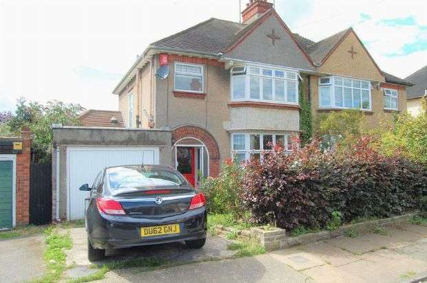 3 Bedrooms Semi Detached House for sale in The Headlands, Abington, Northampton NN3 2PB