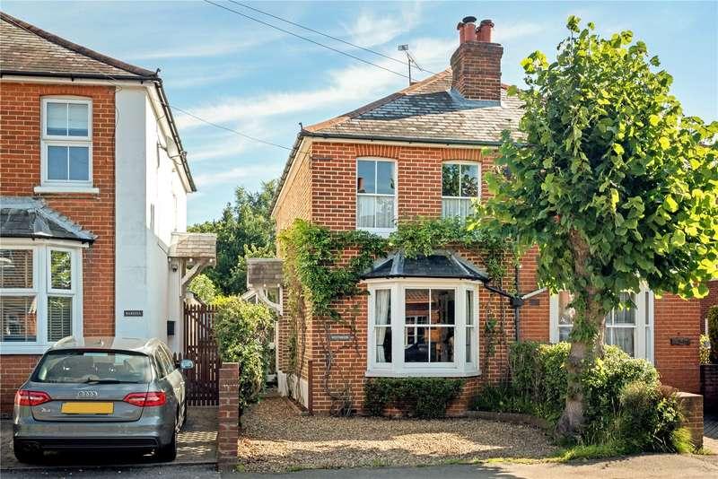 3 Bedrooms Semi Detached House for sale in Fox Corner, Worplesdon, Guildford, Surrey, GU3