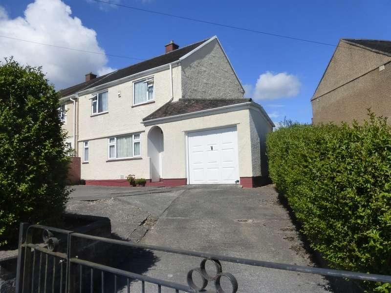 2 Bedrooms Semi Detached House for sale in Penmynydd Road, Penlan, Swansea
