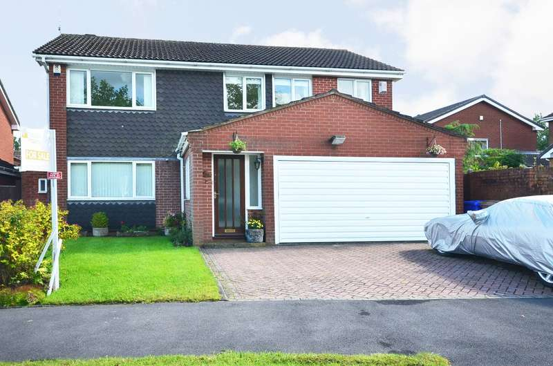 5 Bedrooms Detached House for sale in Kestrel Avenue, Meir Park, ST3 7RD