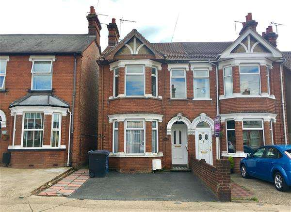 3 Bedrooms Semi Detached House for sale in Foxhall Road, Ipswich