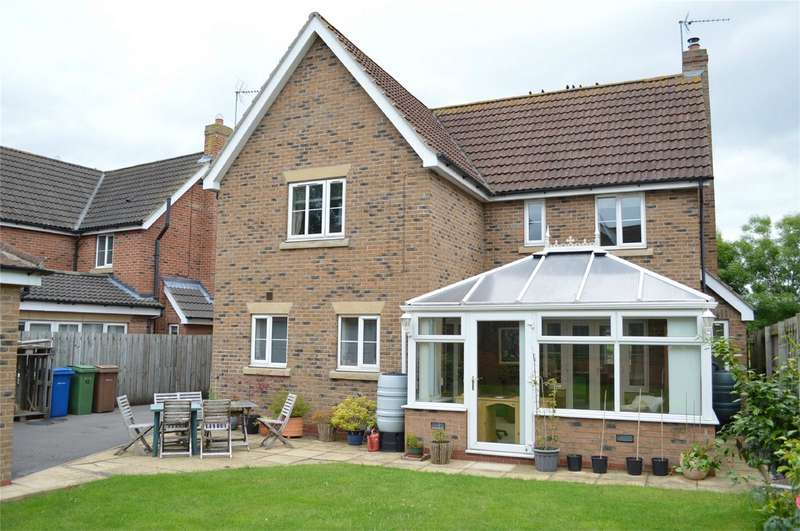 4 Bedrooms Detached House for sale in Springfield Close, Sigglesthorne, East Riding of Yorkshire