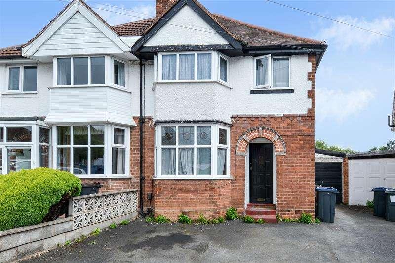3 Bedrooms Semi Detached House for sale in Farlow Road, Northfield, Birmingham