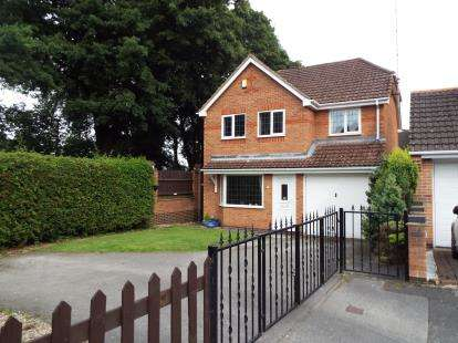 4 Bedrooms Detached House for sale in Tree View Close, Arnold, Nottingham