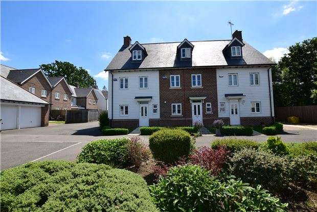 4 Bedrooms Semi Detached House for sale in Broomfield, Bells Yew Green, TUNBRIDGE WELLS, Kent, TN3 9AF