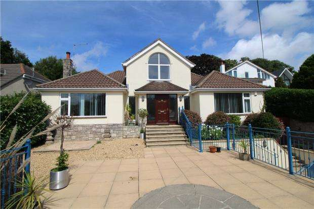 4 Bedrooms Detached Bungalow for sale in Lower Parkstone, Poole, Dorset, BH14