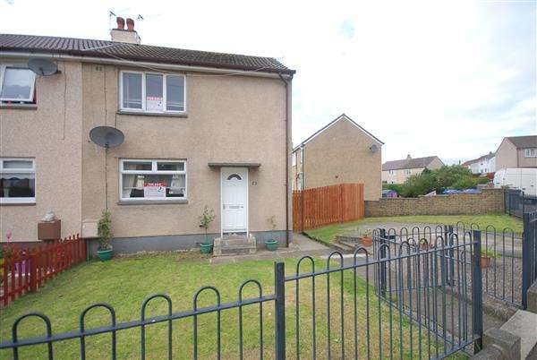 2 Bedrooms End Of Terrace House for sale in Fleming Crescent, Saltcoats