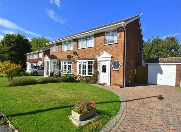 3 Bedrooms Semi Detached House for sale in Hildersham Close, Broadstairs, Kent