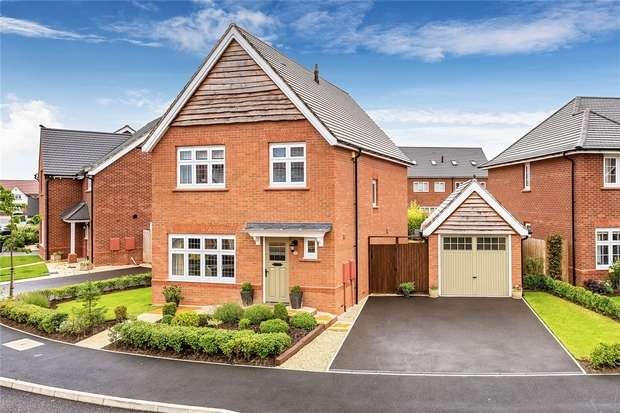 3 Bedrooms Detached House for sale in 12 Miller Meadow, Leegomery, Telford, Shropshire