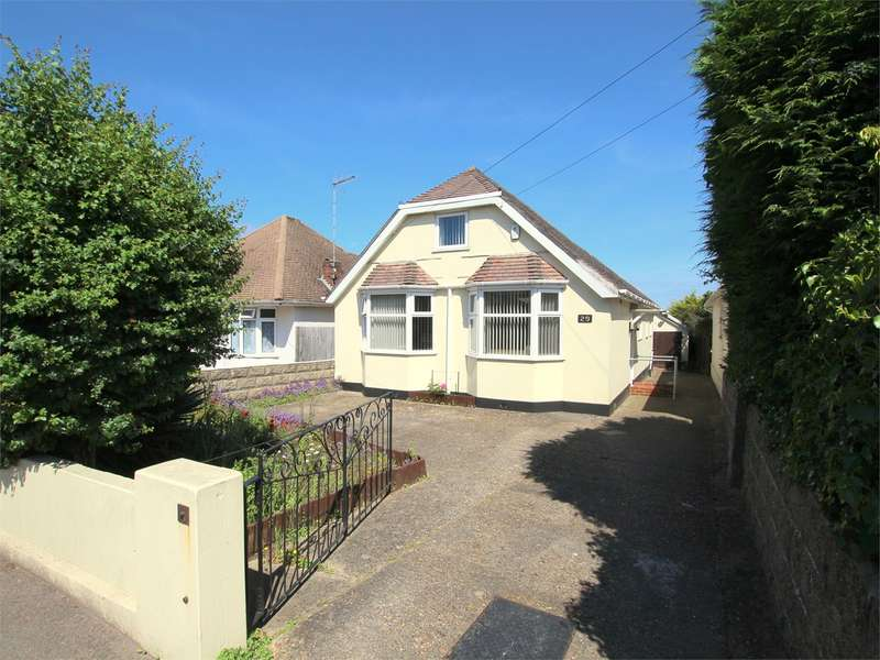3 Bedrooms Detached Bungalow for sale in Dorchester Road, Oakdale, POOLE, BH15