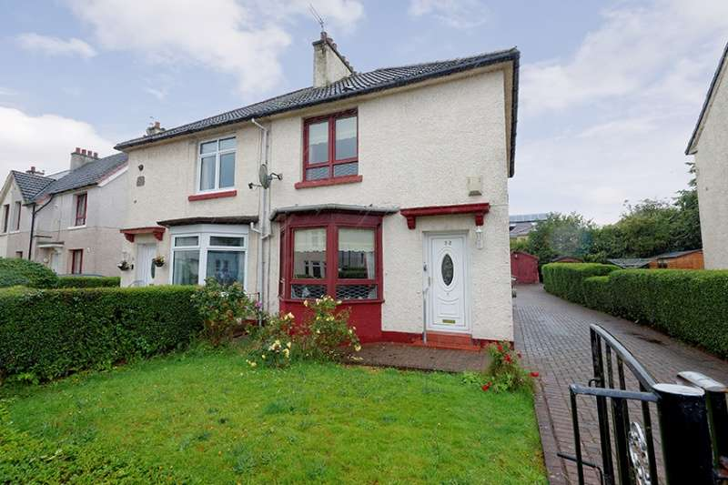 2 Bedrooms Semi Detached House for sale in Arran Drive, Mosspark, Glasgow, G52 1JR