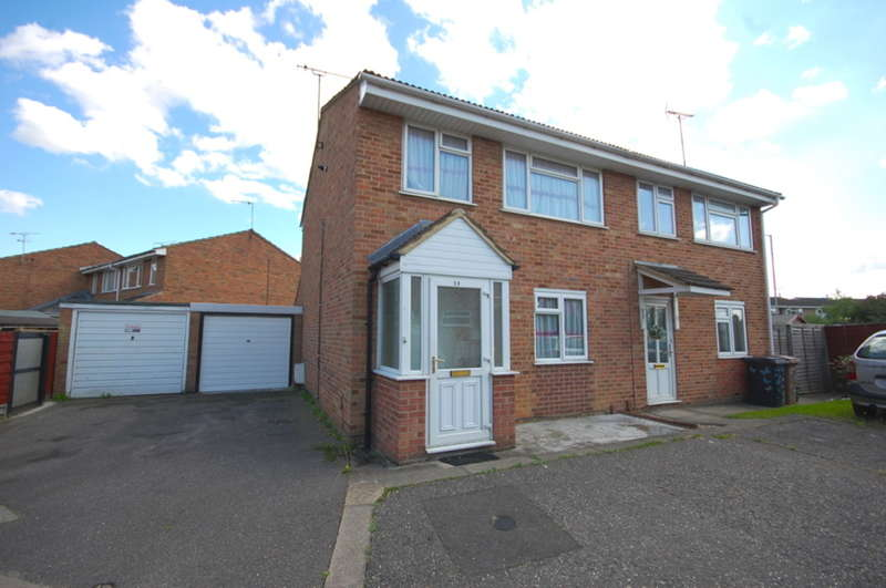 3 Bedrooms Semi Detached House for sale in Iris Close, Springfield, Chelmsford, CM1