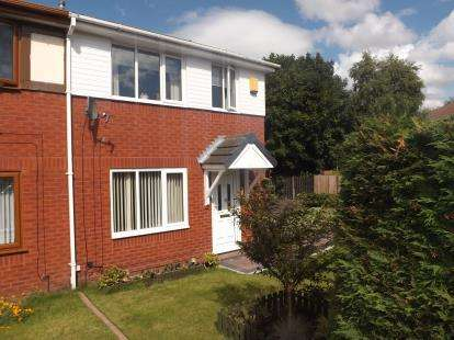 3 Bedrooms Semi Detached House for sale in Rochester Close, Golborne, Warrington