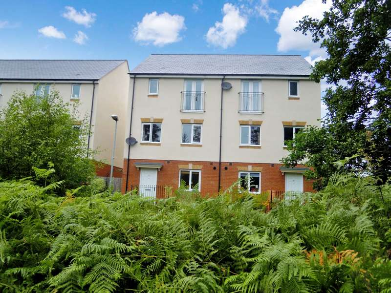 4 Bedrooms Town House for sale in Templer Place, Bovey Tracey