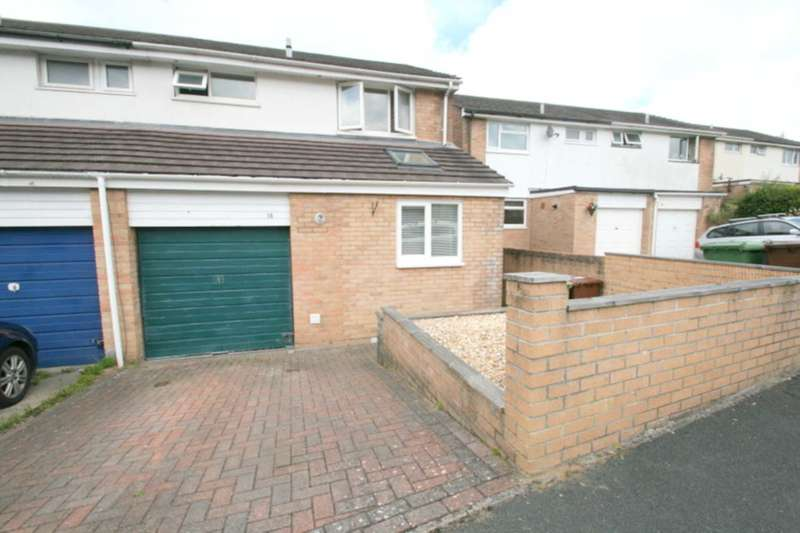 3 Bedrooms Semi Detached House for sale in Edwards Drive, Plympton