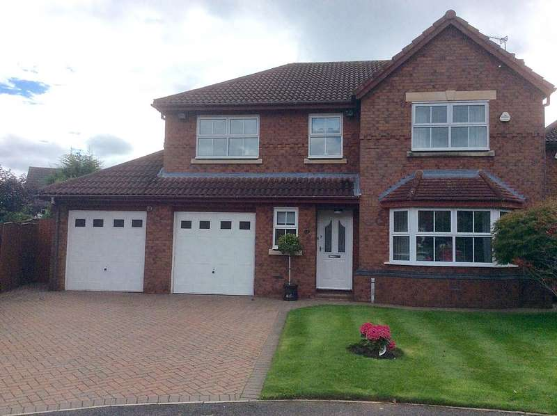 4 Bedrooms Detached House for sale in Sandstone Close, Rainhill, Prescot, Merseyside, L35 6DF
