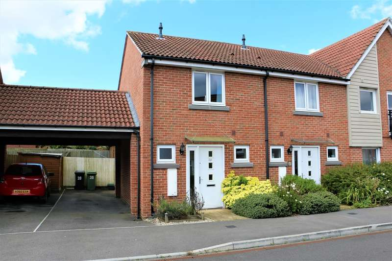 2 Bedrooms End Of Terrace House for sale in Englefield Way, Marnel Park, Basingstoke, RG24