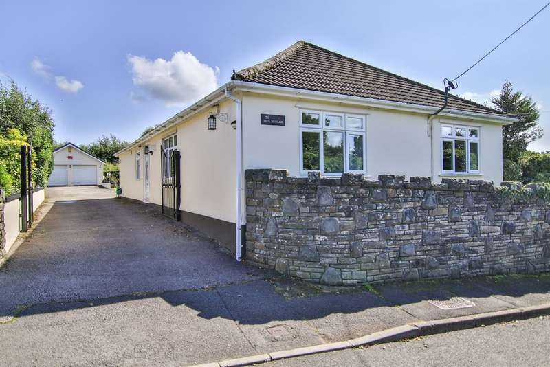 5 Bedrooms Detached Bungalow for sale in Heol Dowlais, Efail Isaf, PONTYPRIDD