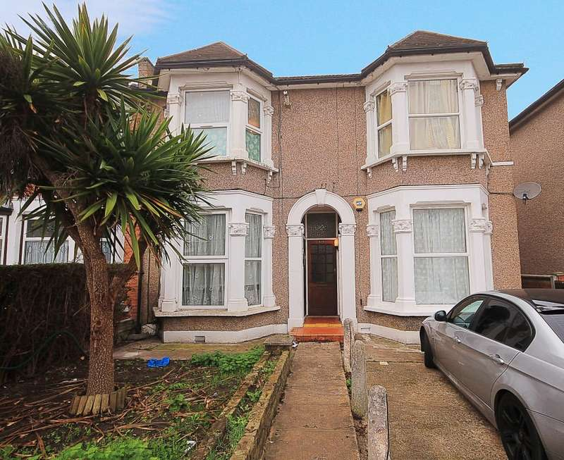 2 Bedrooms Ground Flat for sale in Elgin Road, Ilford, Essex, IG3 8LW