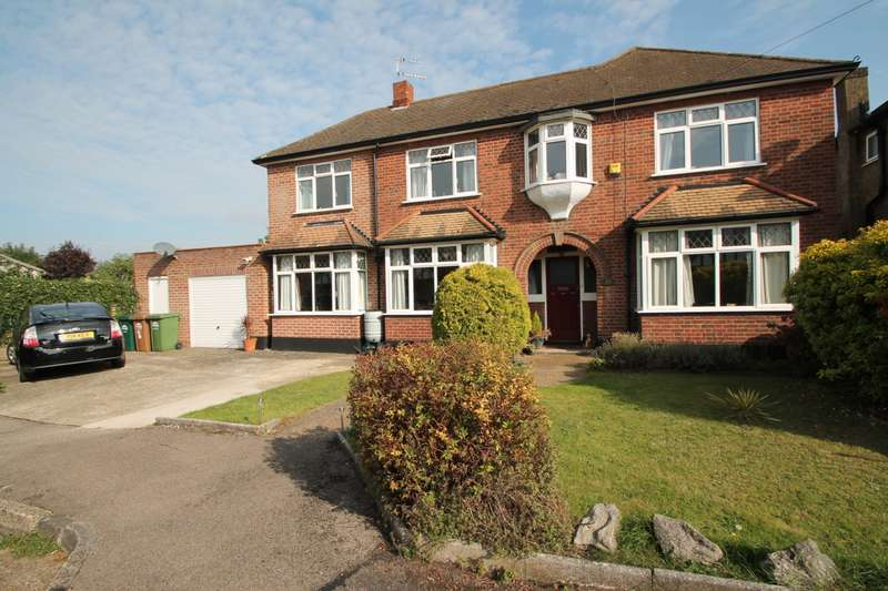 5 Bedrooms Detached House for sale in Gables Avenue, Ashford, TW15