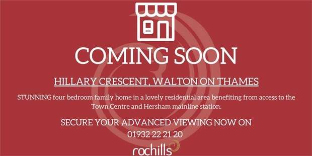 4 Bedrooms Semi Detached House for sale in Hillary Crescent, WALTON-ON-THAMES, Surrey