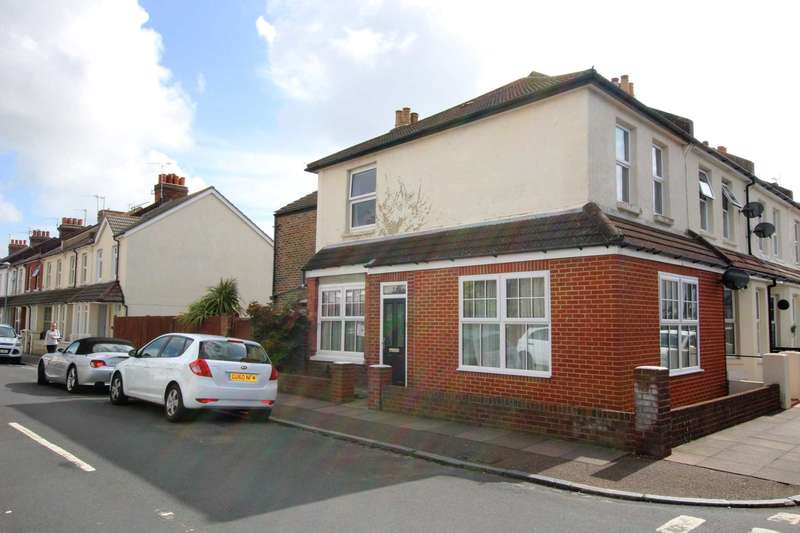 3 Bedrooms End Of Terrace House for sale in Albion Road, Eastbourne, BN22 8HN