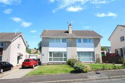 3 Bedrooms Semi Detached House for rent in Dunedin Drive, East Kilbride, G75