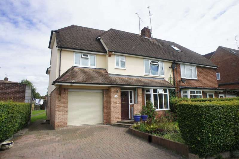 5 Bedrooms Semi Detached House for sale in Stuart Close, Emmer Green