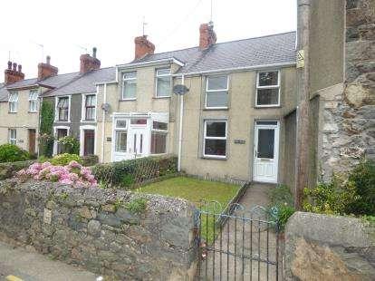 2 Bedrooms Terraced House for sale in Efailnewydd, Pwllheli, Gwynedd, LL53