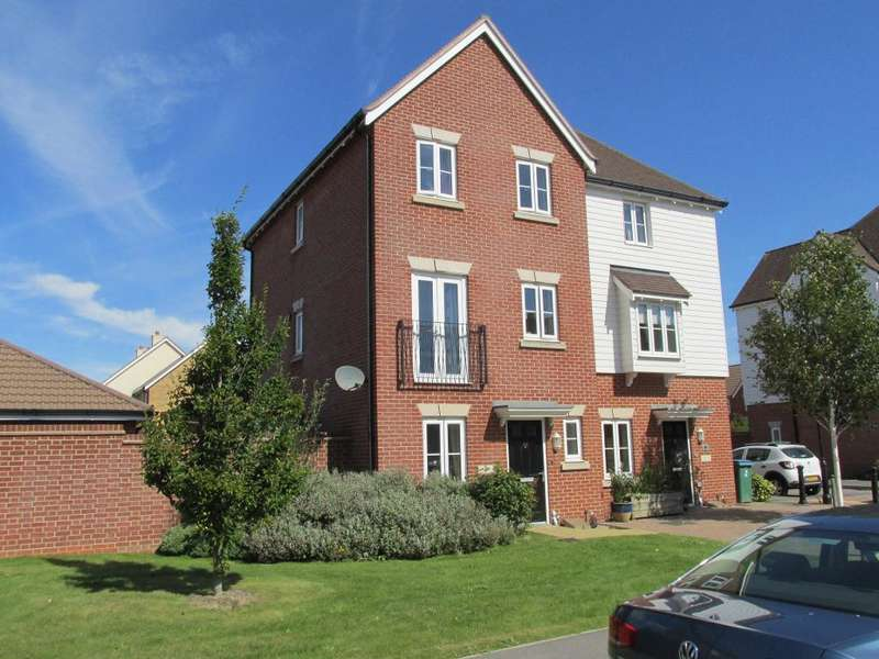 4 Bedrooms Semi Detached House for sale in Elbridge Avenue, North Bersted, Bognor Regis, West Sussex, PO21 5AD