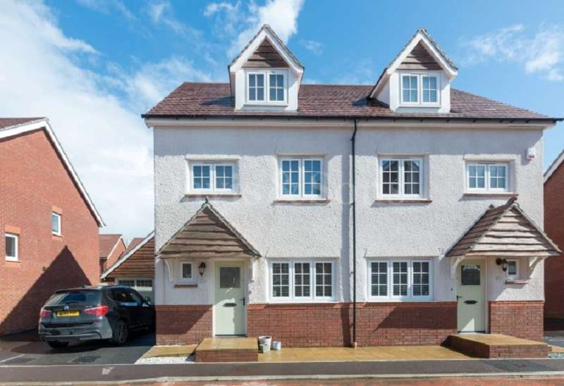 4 Bedrooms Semi Detached House for sale in Excalibur Drive, Mon Bank, Newport, Gwent . NP20 2QQ