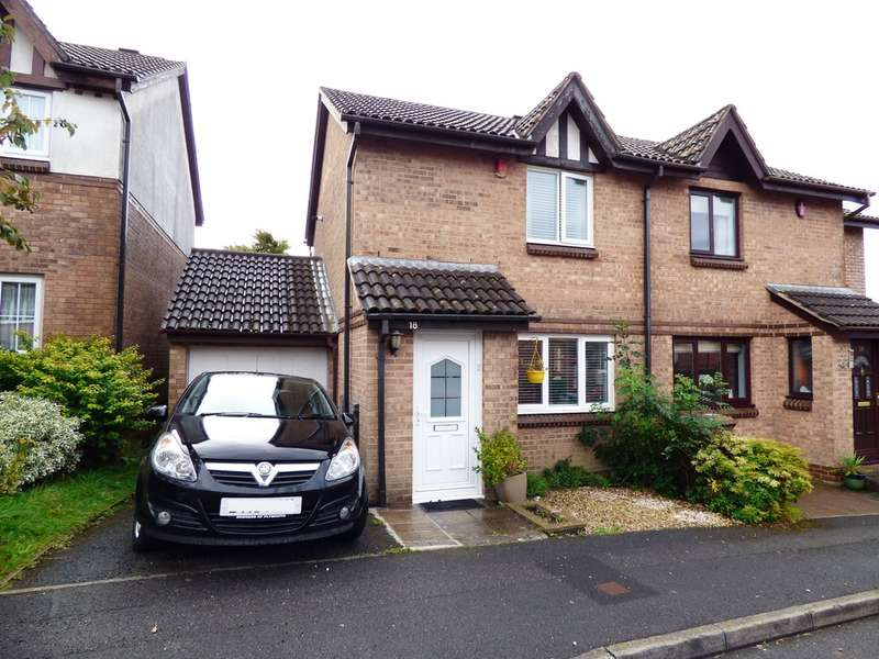 2 Bedrooms Semi Detached House for sale in Chaddlewood, Plympton