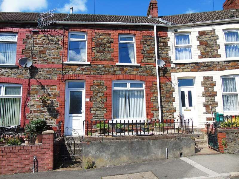 3 Bedrooms Terraced House for sale in Lewis Terrace, Porth