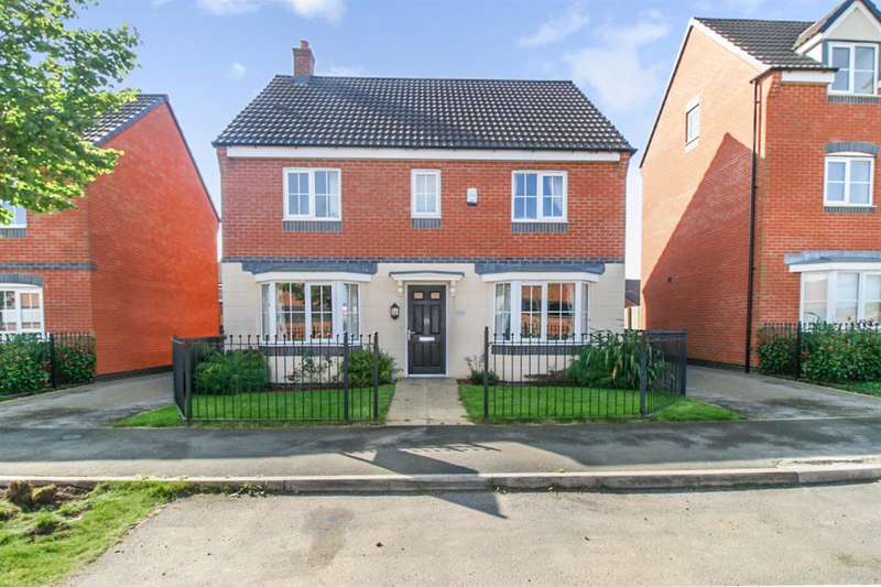 4 Bedrooms Detached House for sale in Birstall Meadow Road, Leicester