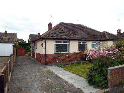 2 Bedrooms Bungalow for sale in Ellesmere Avenue, Upton, Chester, Cheshire, CH2