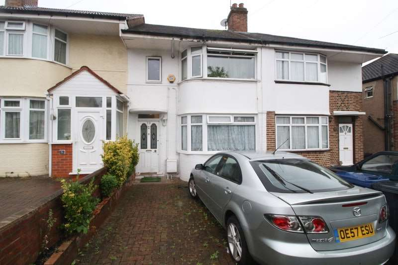 4 Bedrooms Terraced House for sale in Girton Road, Northolt, Middlesex, UB5