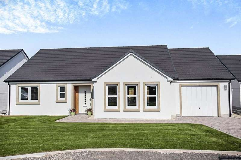 2 Bedrooms Detached Bungalow for sale in Ottersburn Way, Crocketford, Dumfries, DG2