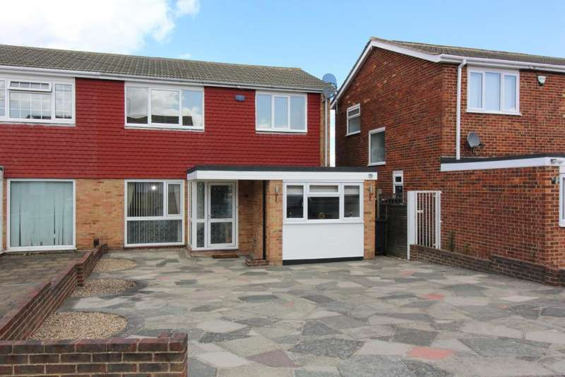 3 Bedrooms Semi Detached House for sale in Nicolson Road, Orpington, Kent, BR5 4EH